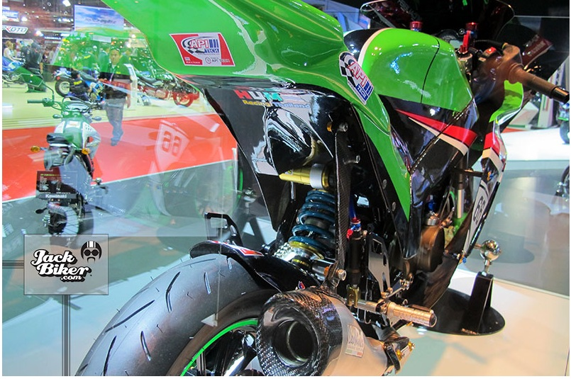 Kawasaki KSR do thanh ZX10R cuc chat - 12