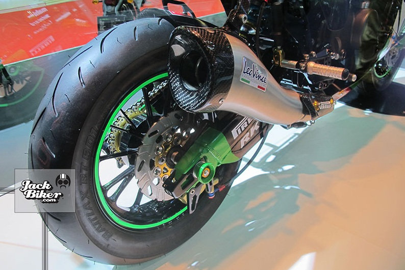Kawasaki KSR do thanh ZX10R cuc chat - 14