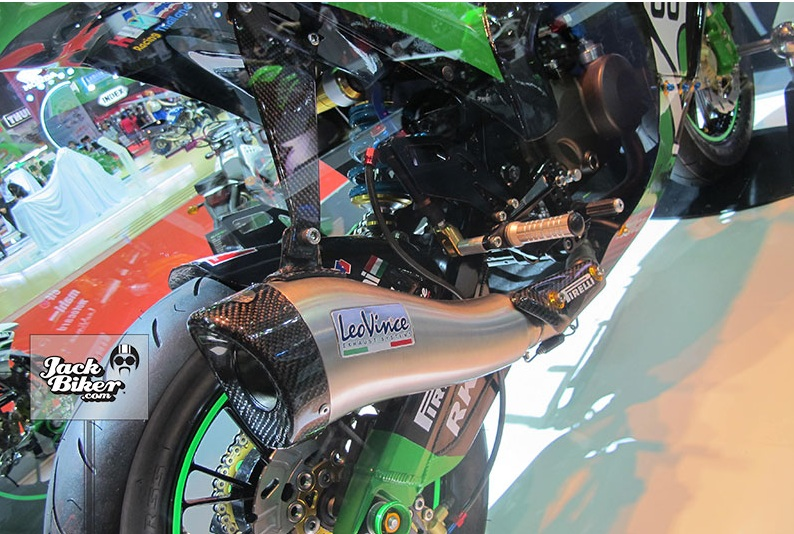 Kawasaki KSR do thanh ZX10R cuc chat - 15