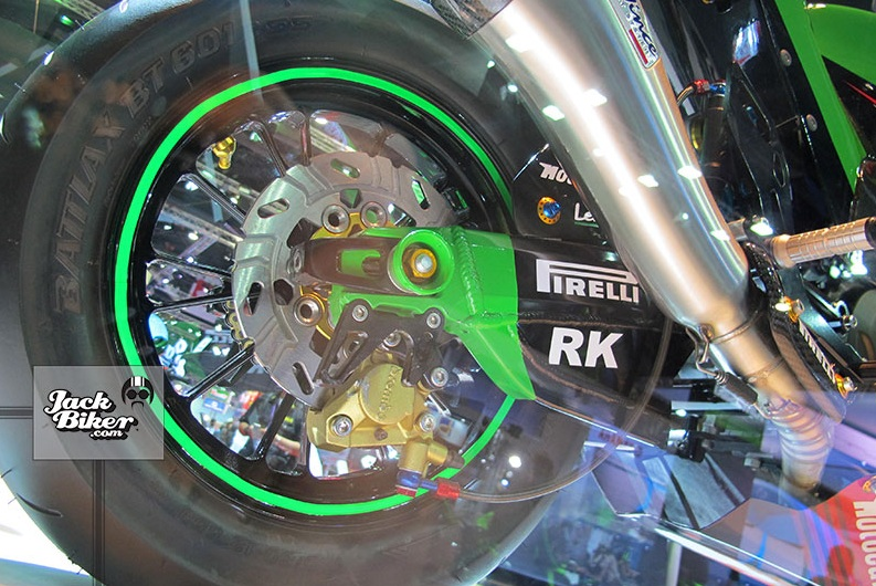 Kawasaki KSR do thanh ZX10R cuc chat - 16
