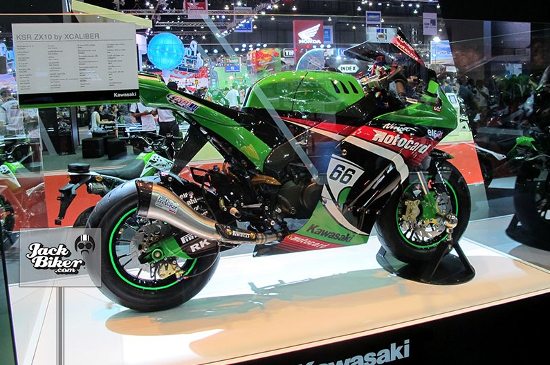 Kawasaki KSR do thanh ZX10R cuc chat - 20