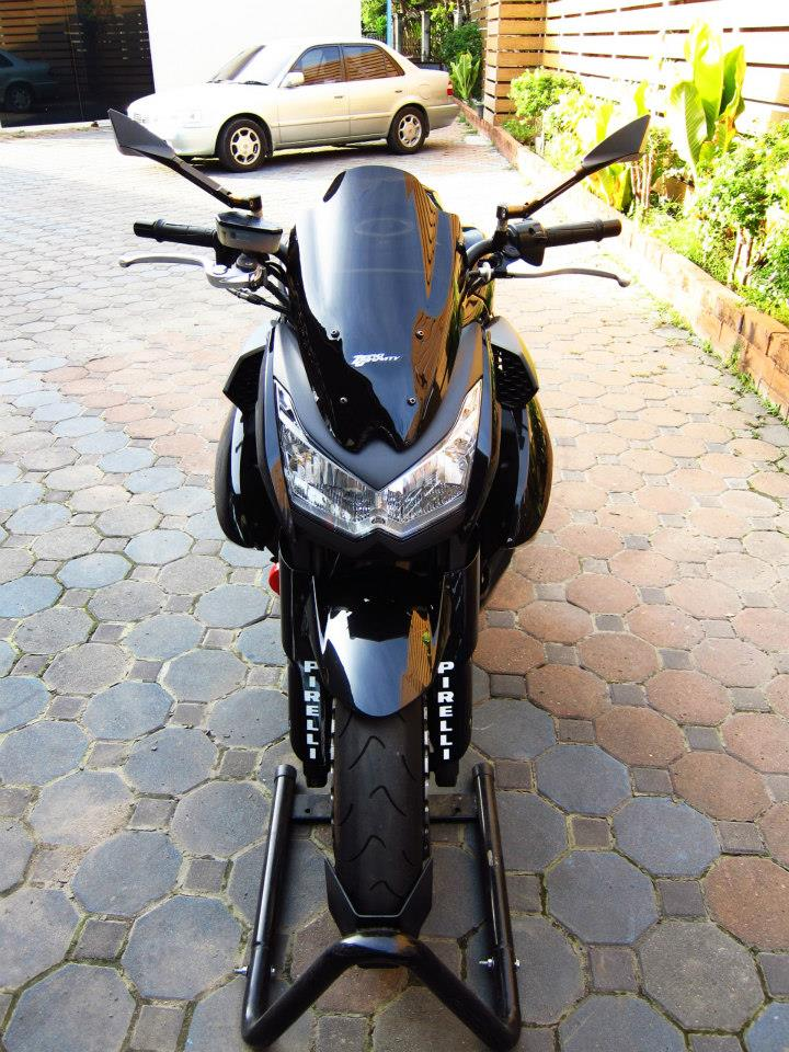 Kawasaki Z1000 black version - 2