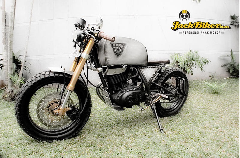 Suzuki Thunder do Cafe Racer