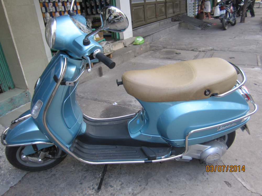 vespa LX 150 doi 2012 bien so thanh pho chinh chu