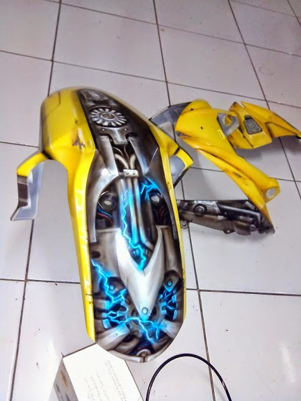 Xe Do transformers Bumblebee cuc ngau - 4