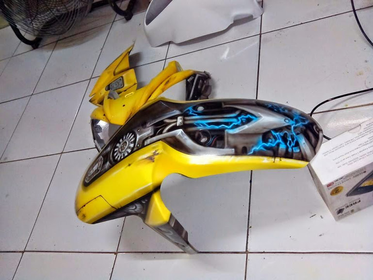 Xe Do transformers Bumblebee cuc ngau - 6