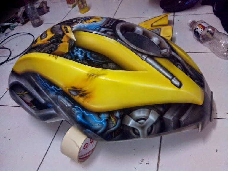 Xe Do transformers Bumblebee cuc ngau - 9