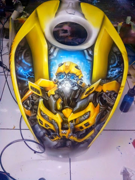 Xe Do transformers Bumblebee cuc ngau - 10