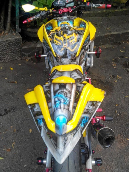 Xe Do transformers Bumblebee cuc ngau - 15