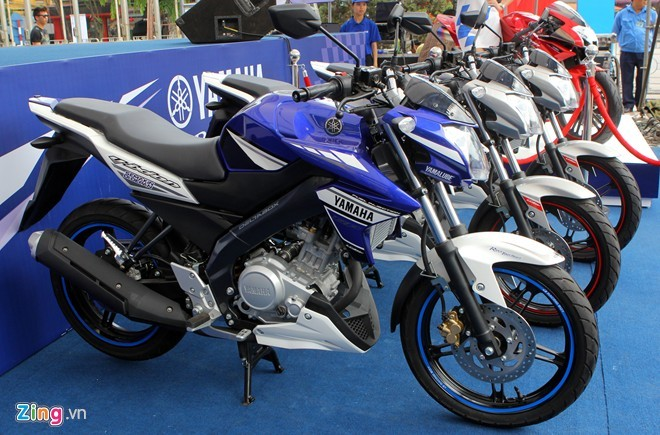 Yamaha FZ150i thong tri thi truong mo to the thao co nho o Indonesia