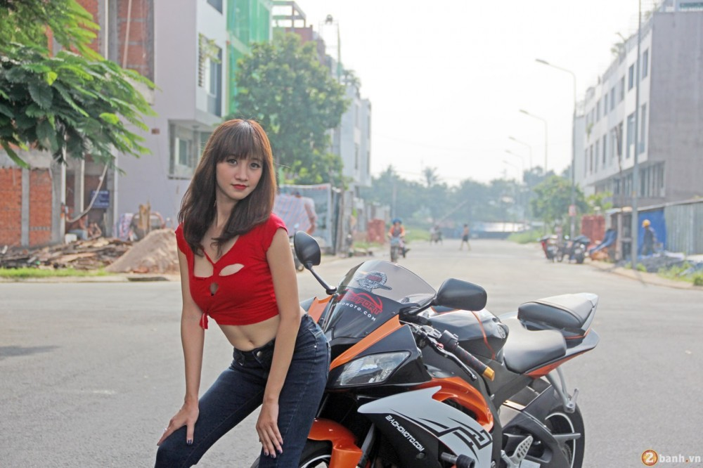 Yamaha R6 do dang cung teen girl trong Party ABMiralce - 2