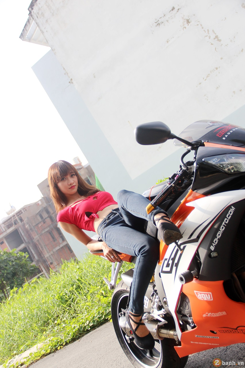 Yamaha R6 do dang cung teen girl trong Party ABMiralce - 3