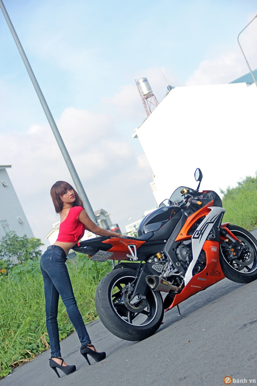 Yamaha R6 do dang cung teen girl trong Party ABMiralce - 4