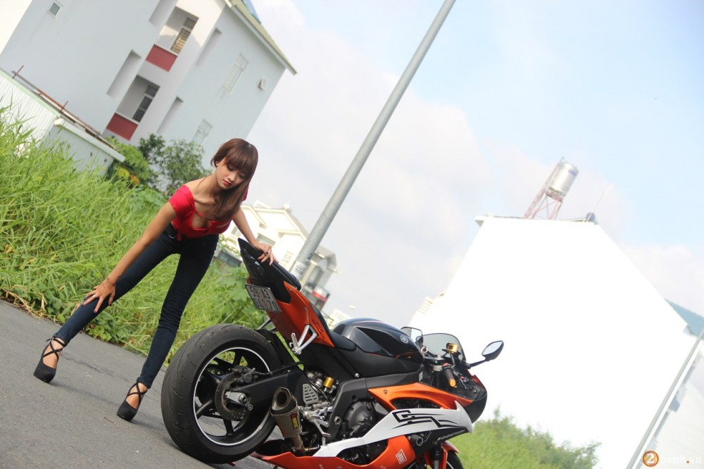 Yamaha R6 do dang cung teen girl trong Party ABMiralce - 5