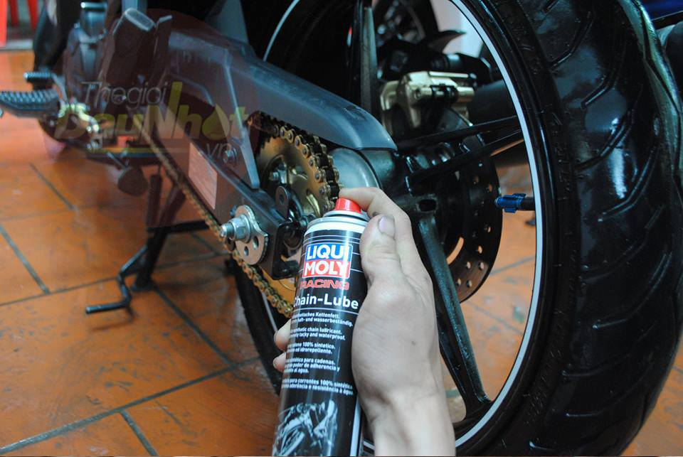 Cac san pham cham soc xe may cua Liqui Moly Made in Germany - 2