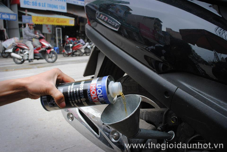 Cac san pham cham soc xe may cua Liqui Moly Made in Germany - 9