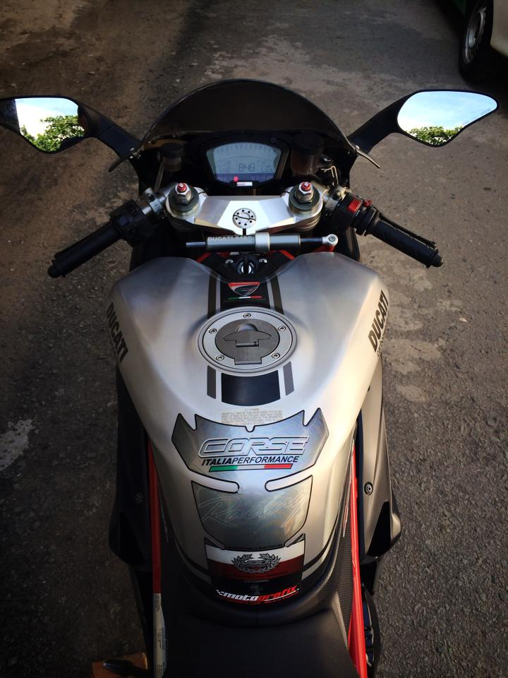 Ngam Ducati 848 EVO CORSE SPECIAL EDITION LIMITED 2013 hang hiem tai Viet Nam - 4