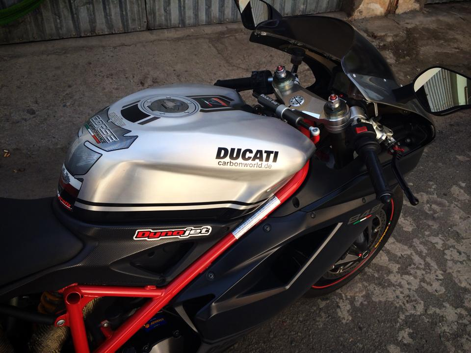 Ngam Ducati 848 EVO CORSE SPECIAL EDITION LIMITED 2013 hang hiem tai Viet Nam - 5