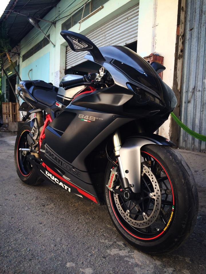 Ngam Ducati 848 EVO CORSE SPECIAL EDITION LIMITED 2013 hang hiem tai Viet Nam - 6