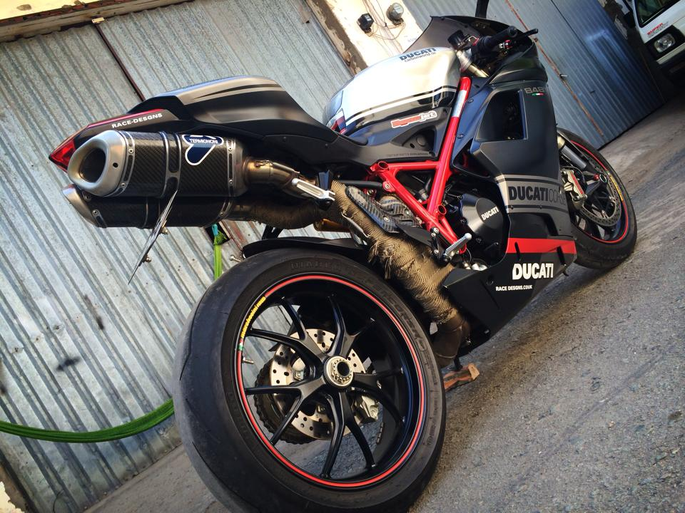 Ngam Ducati 848 EVO CORSE SPECIAL EDITION LIMITED 2013 hang hiem tai Viet Nam - 9
