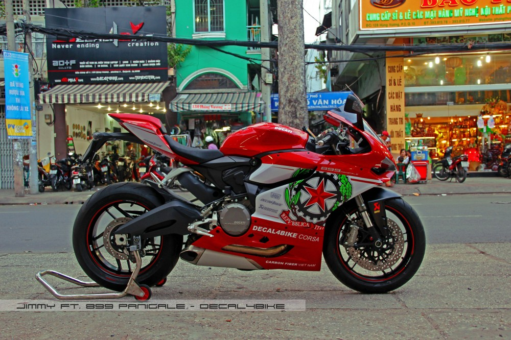 Ducati 899 Panigale Decal4Bike Corsa