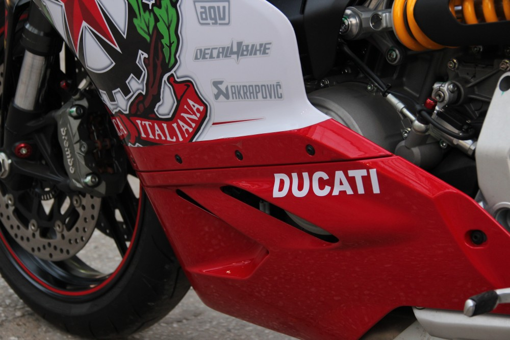 Ducati 899 Panigale Decal4Bike Corsa - 9