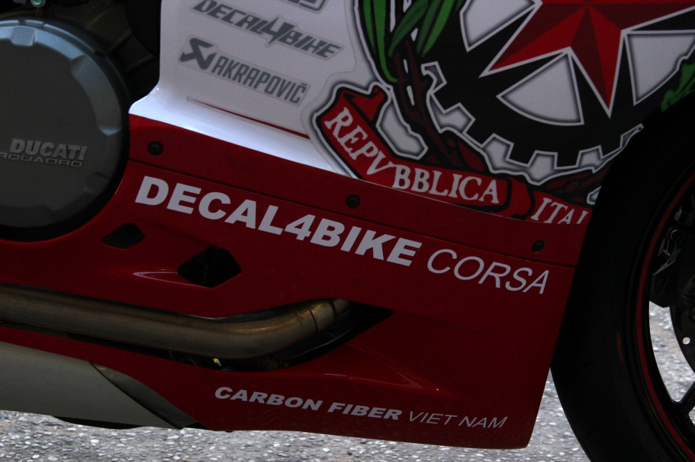 Ducati 899 Panigale Decal4Bike Corsa - 11