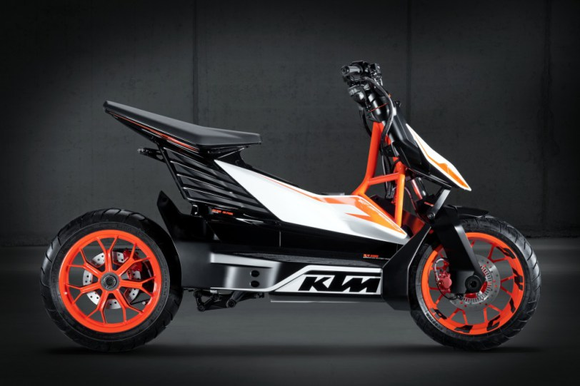 ESpeed chiec scooter dien the thao cua KTM
