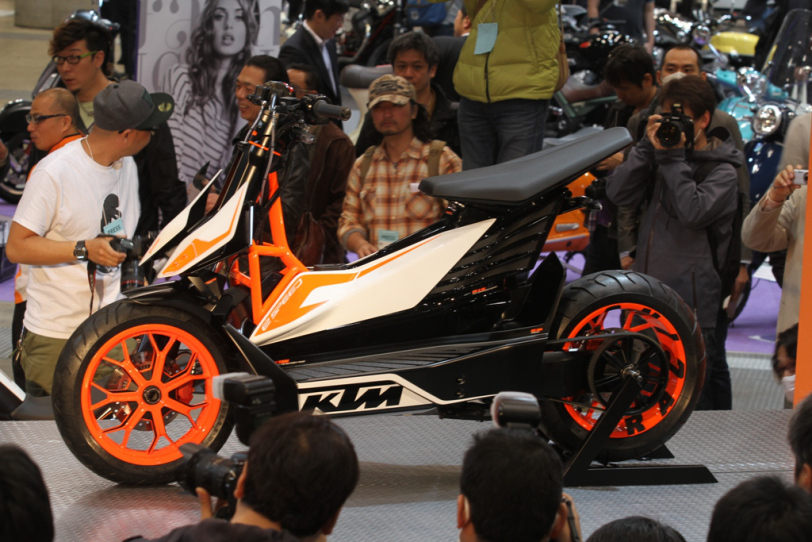 ESpeed chiec scooter dien the thao cua KTM - 7