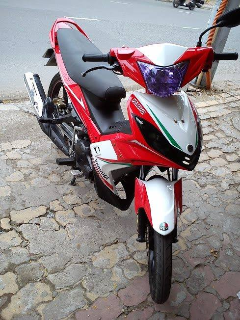 Exciter do theo phong cach Ducati