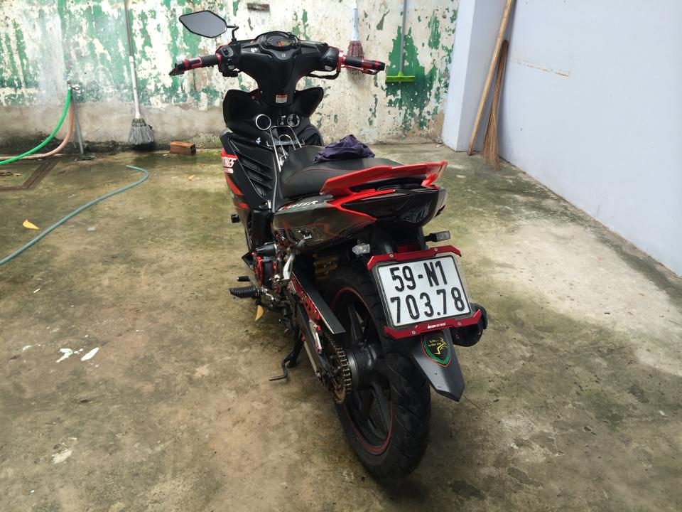 Exciter KTM do den day phong cach - 5