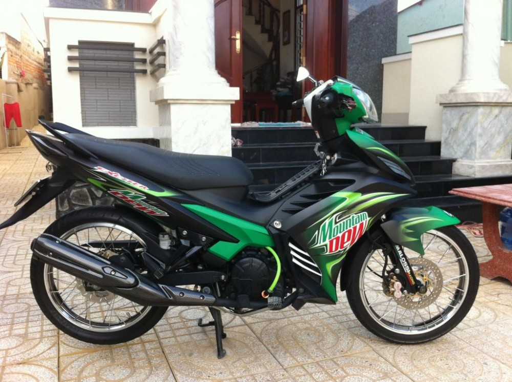 Exciter phien ban nuoc tang luc Mountain Dew