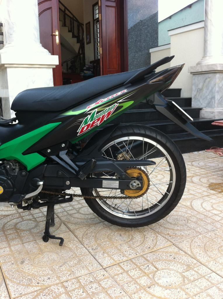 Exciter phien ban nuoc tang luc Mountain Dew - 4