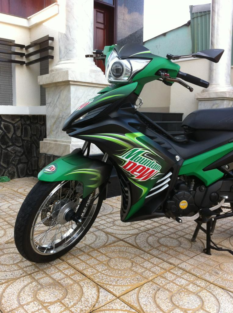 Exciter phien ban nuoc tang luc Mountain Dew - 5