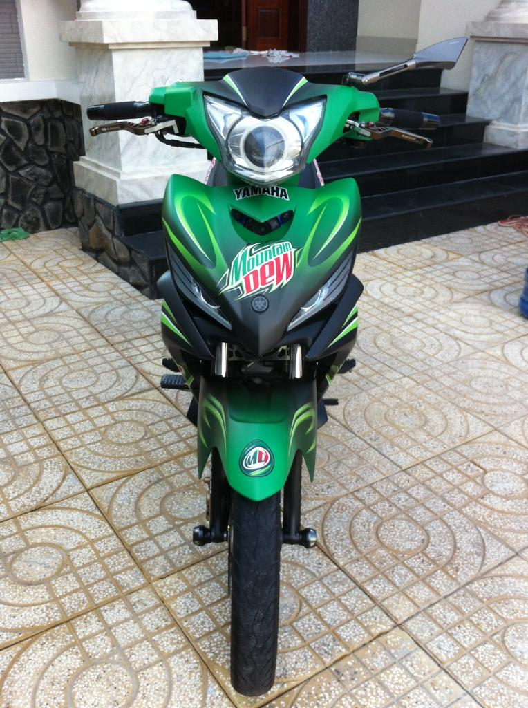 Exciter phien ban nuoc tang luc Mountain Dew - 13