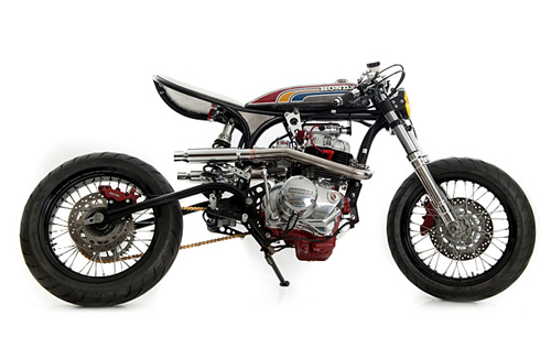 Honda CBN400 Super Cafe racer ca tinh