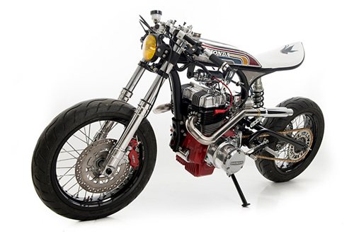 Honda CBN400 Super Cafe racer ca tinh - 2