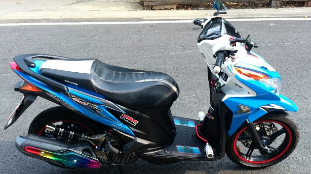 Honda Click 125i do ben Thai Lan - 2