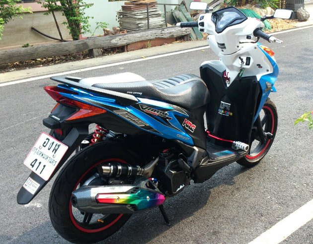 Honda Click 125i do ben Thai Lan - 3