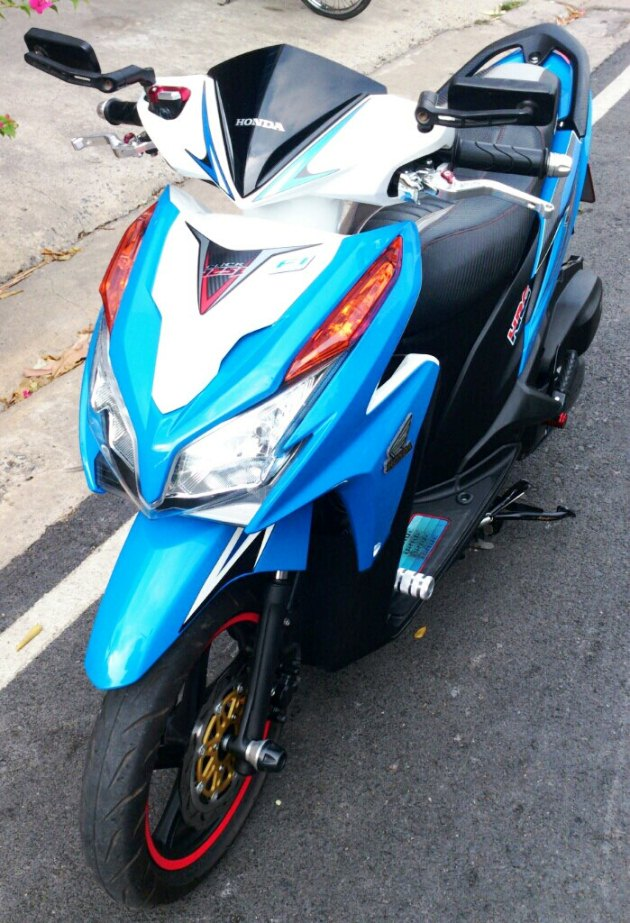 Honda Click 125i do ben Thai Lan - 6