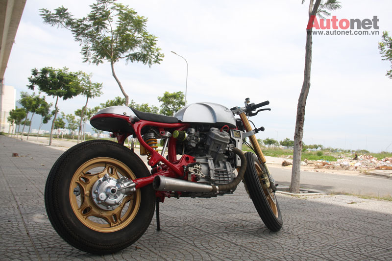 Honda GL400 do Cafe Racer cuc chat tai Da Nang - 5