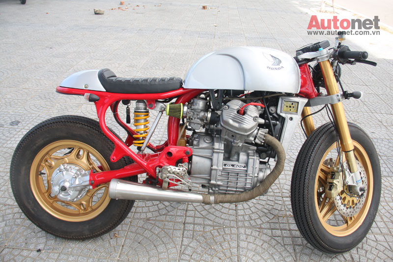 Honda GL400 do Cafe Racer cuc chat tai Da Nang - 10