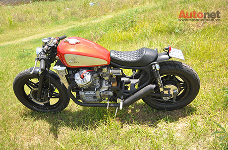 Honda GL400 do Cafe Racer ham ho - 3