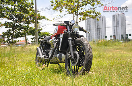 Honda GL400 do Cafe Racer ham ho - 5