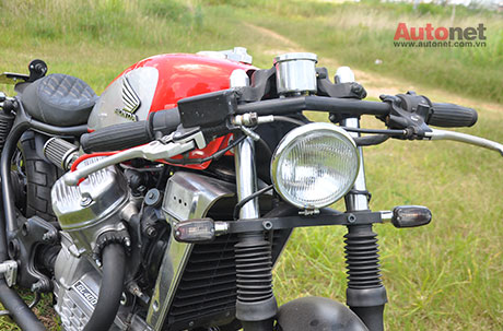 Honda GL400 do Cafe Racer ham ho - 13