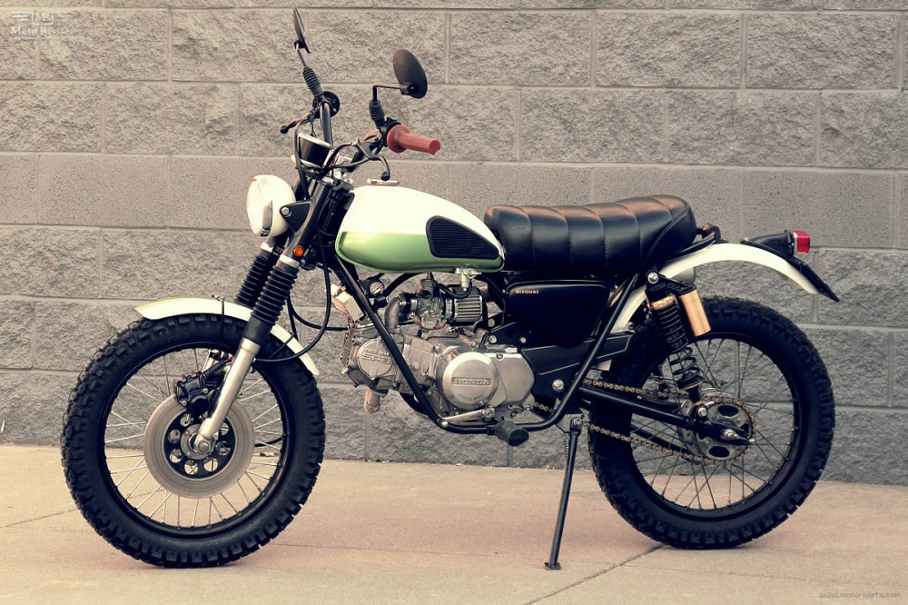 Honda SL70 do Scrambler - 4