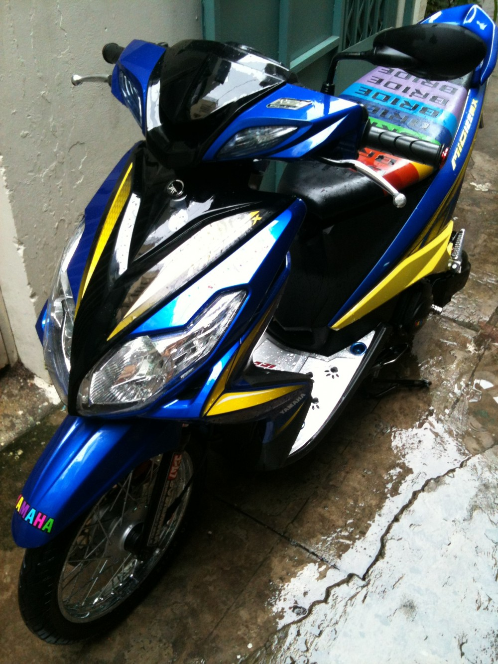 Mio 125i style drag Thai nhe nhang ma chat - 5