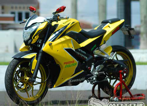 Pulsar 200NS do phong cach streetfighter co nho - 2