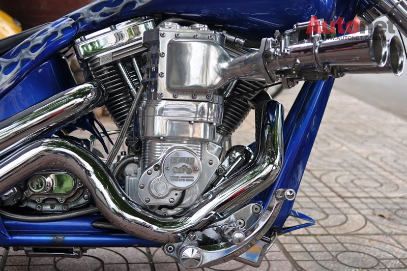 Sieu moto Big Dog Custom One voi dong co 2000cc tai Viet Nam - 6