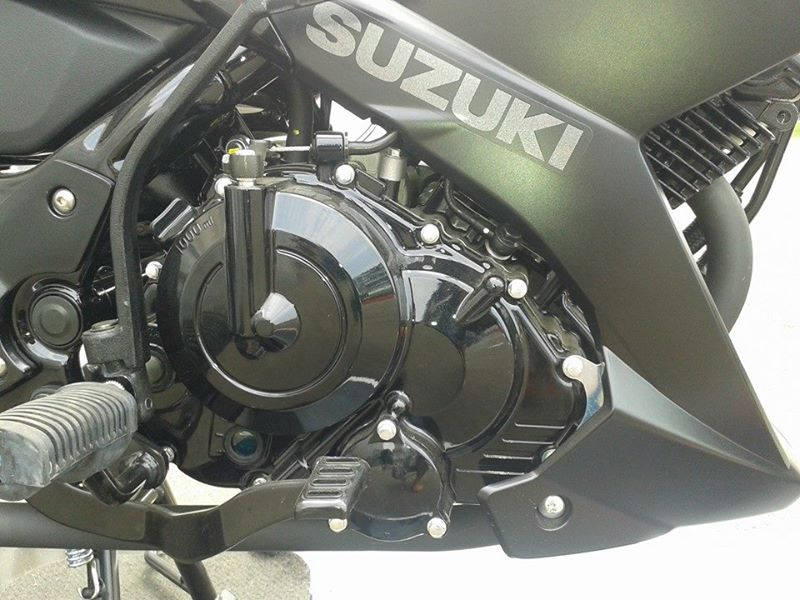 Suzuki Satria F ben Indo co the ra phien ban loc may den